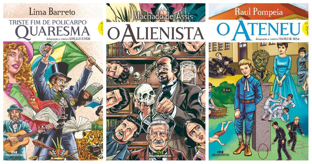 Editora Melhoramentos lança clássicos da literatura